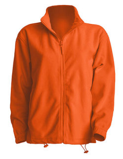 JHK Men Fleece Jacke Orange L