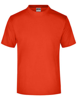 James+Nicholson Round-Tshirt Medium Grenadine S