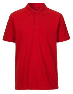 Neutral Männer Classic Polo Red 3XL