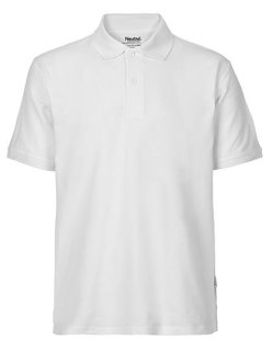 Neutral Männer Classic Polo White XS