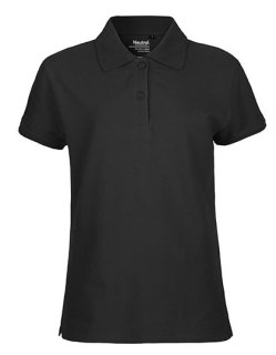 Neutral Frauen Classic Polo Black XXL