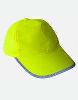Korntex Hi-Viz-, Fluo-Cap /Kinder Signal Yellow One Size