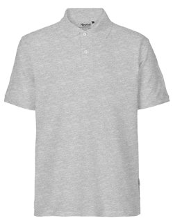 Neutral Männer Classic Polo Sports Grey XS