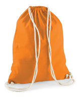 Westford Mill Cotton Turnbeutel Orange 37 x 46 cm