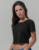 Build Your Brand Ladies` Cropped Tee