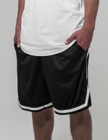 Build Your Brand Two-tone Mesh Shorts