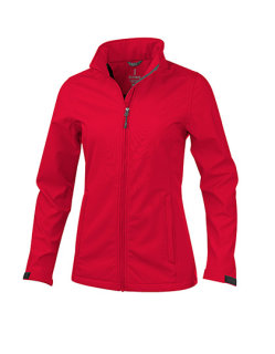 Elevate Maxson Damen Softshell Jacket Red XL