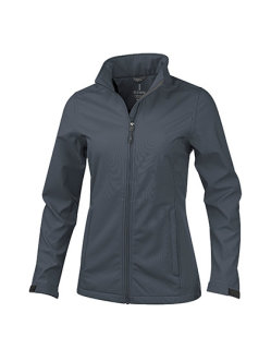 Elevate Maxson Damen Softshell Jacket Storm Grey XL