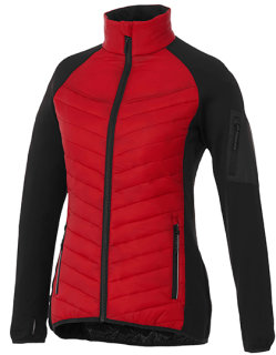 Elevate Banff Hybrid Insulated Jacket Women Red/Black L