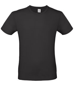 B&C T-Shirt #E150 Black 3XL