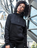 Build Your Brand Ladies Sweat Pull Over Hoody