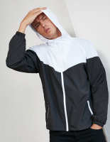 Build Your Brand 2-Tone Tech Windrunner
