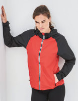 Just Cool Unisex Cool Contrast Windshield Jacket