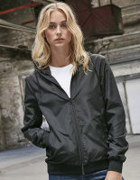 Build Your Brand Ladies Recycled Windrunner