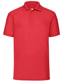 Fruit of the Loom 65/35 Piqué Polo Red S