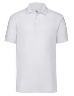 Fruit of the Loom 65/35 Piqué Polo White L